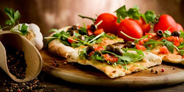 Pizza v Kozel Tank Pube II, možnosť donášky
