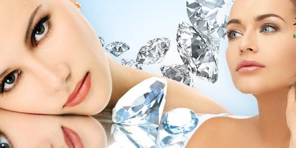 Diamantová dermabrázia tváre