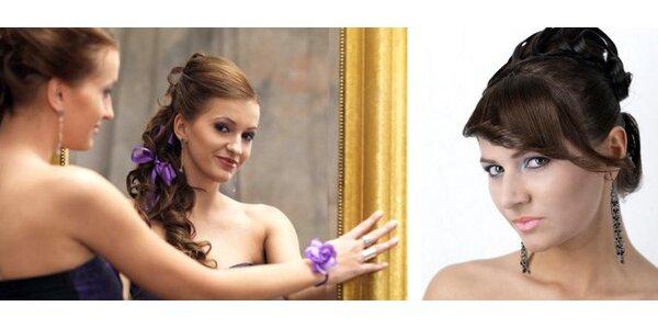 Zažiarte na plese vďaka krásnemu líčeniu od štúdia ZjaART Ateliér so zľavou 50%!
