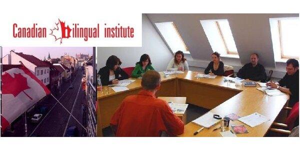 Iba 157 EUR za jazykové kurzy v Canadian Bilingual Institute, zľava 40%!