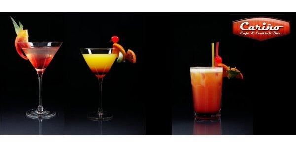 Len 1,50 Eur za 1x miešaný drink v Cariño Café & Cocktail Bare. Zľava 62%!