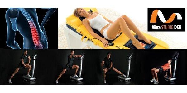Len 8 EUR za 2 krát cvičenie na vibračnej plošine a 2 krát masáž. Zľava 60%!