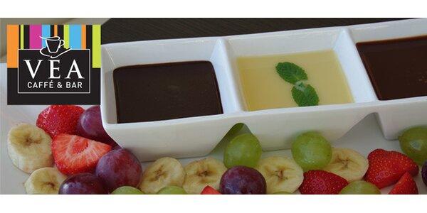 Fantastické čokoládové fondue a dve kávičky na zohriatie za iba 5,99 EUR!