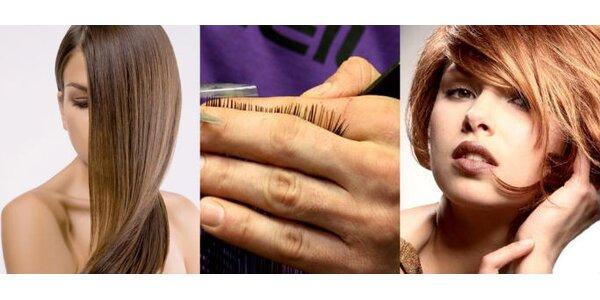 Len 6,75 EUR za strihanie, regeneráciu s balzamom a styling účesu, zľava 70%