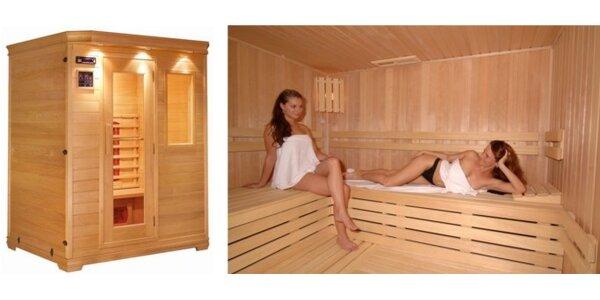 Len 3 Eurá za vstup do Infra sauny. Posilnenie imunity so zľavou 50%!