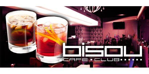 1,50 Eur za miešané drinky podľa vlastného výberu v Bisou Café.