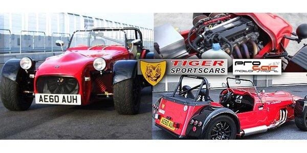 59,50 Eur za divokú jazdu a driftovanie v pravom pretekárskom vozidle TIGER!