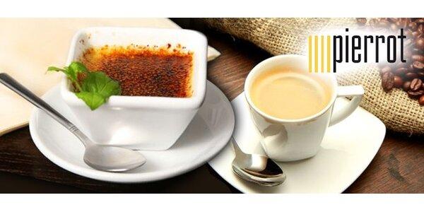 2,49 Eur za kávičku a dezert k tomu v Cafe Pierrot !
