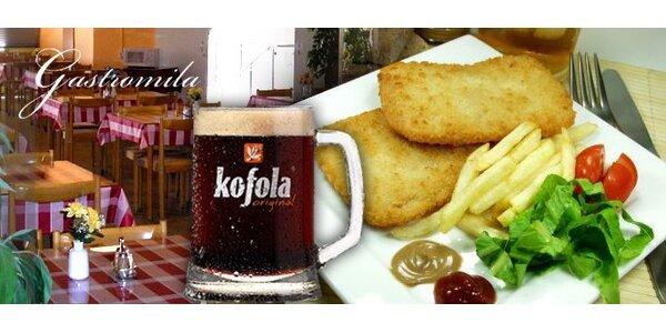 Len 1,50 Eur za celý obed v Košiciach!