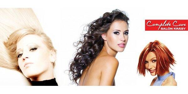 7,90 Eur za dokonalý strih a styling Vašich vlasov salóne Complete Care!
