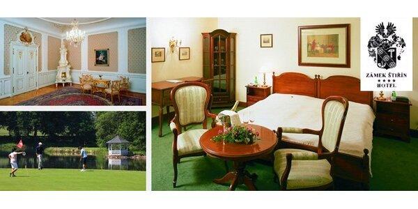 159 EUR za ubytovanie na dve noci pre dve osoby v rozprávkovom Zámku Štiřín