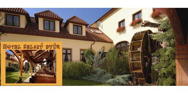 118 EUR za trojdňový pobyt pre DVOCH v romantickom Selskom dvore v Prahe!