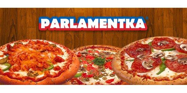 Len 1 Euro za parádnu pizzu podľa vlastného výberu v Parlamentke!