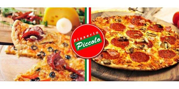 1,90 Eur za pizzu v centre Žiliny s výberom z 33 druhov so zľavou 62%!