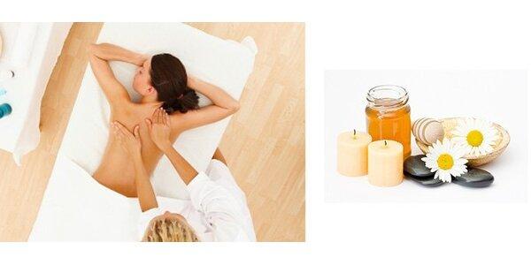 4,99 Eur za 30 minút medovej masáže so zľavou 58%!