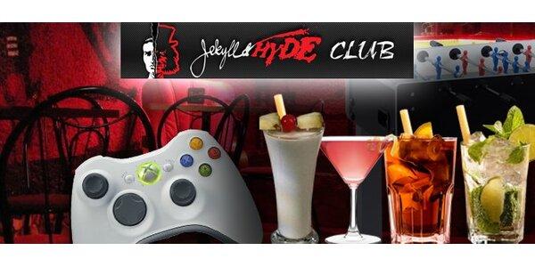 Len 1,40 Eur za osviežujúci drink v Jekyll & Hyde Klub-e so zľavou 61%!