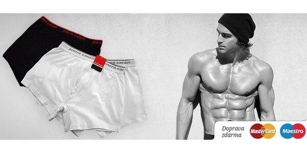 Dvoje luxusné boxerky Pierre Cardin za 7,95 eur