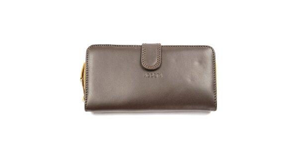Dámska oranžovo-hnedá peňaženka Acosta