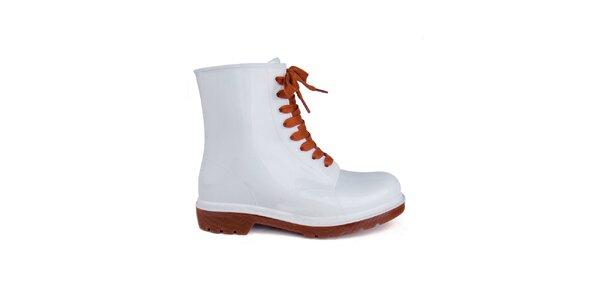 Dámske biele topánky Via Bellucci