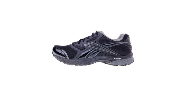 Pánske čierne bežecké topánky Reebok