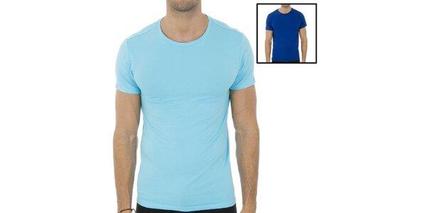 Dve pánske trička Ralph Lauren - svetlo a tmavo modré