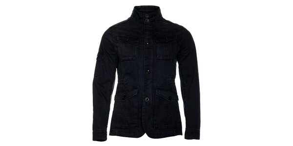 Pánska temno modrá jarná bunda Roberto Verino
