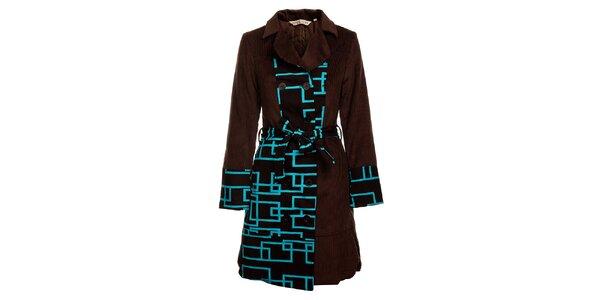 Dámsky jarný kabát s opaskom od značky Savage Culture