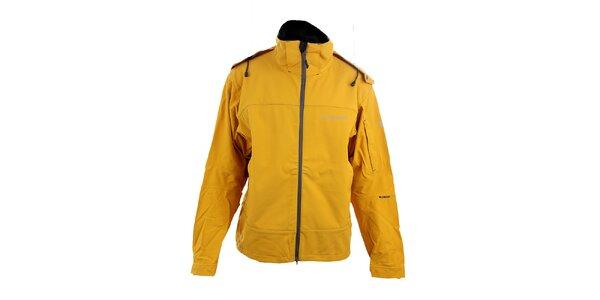 Pánska žltá softshellová bunda Trimm