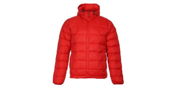 Pánska červená zimná prešívaná bunda Trimm Zephyr