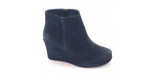 Dámske tmavo modré topánky Xti