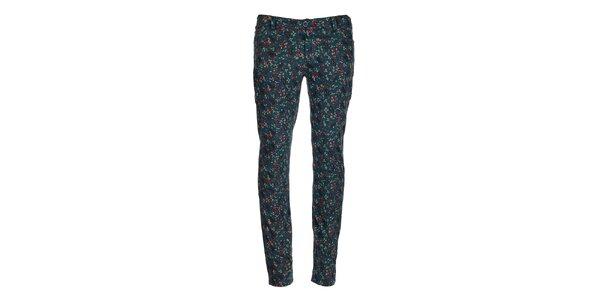 Dámske kvetované nohavice Bleifrei