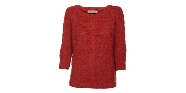 Dámsky tehlový sveter Bleifrei