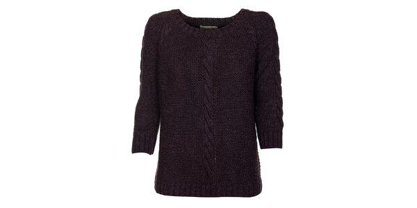 Dámsky fialový sveter Bleifrei