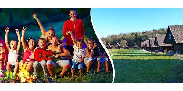 Letný detský tábor s bohatým programom