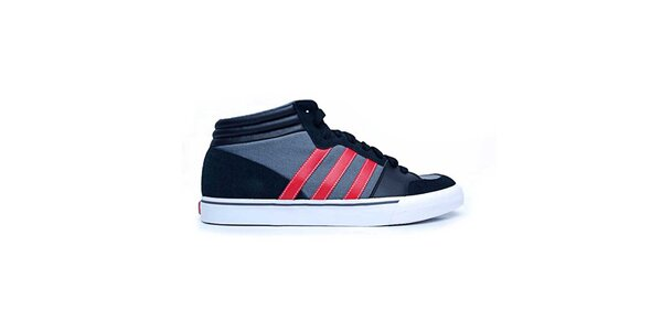 c459fae33e84 Pánske modro-červené členkové tenisky Adidas