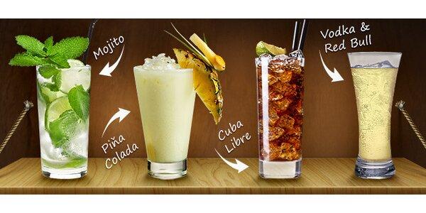 Miešaný drink v Relax Cafe Bare