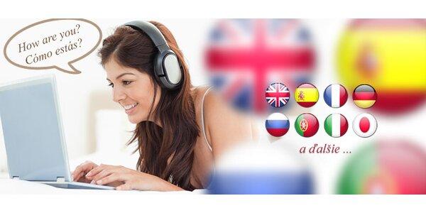 Naučte sa v pohodlí domova svetový jazyk!