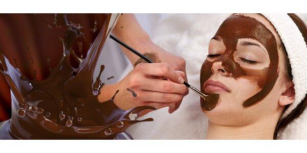 Luxusné ošetrenie tváre čokoládou