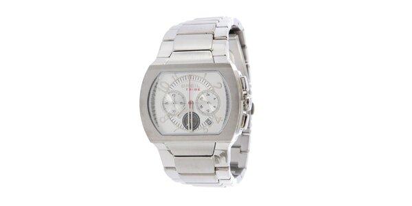Dámske strieborné analogové hodinky Breil