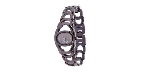 Dámske fialové hodinky Breil