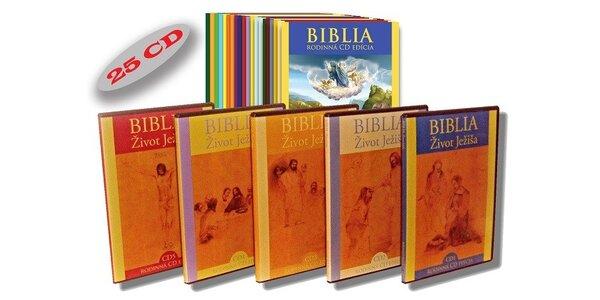 BIBLIA - Starý zákon + Nový zákon (25 CD)