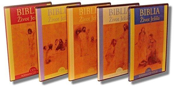 Život Ježiša 5 CD - Nový Zákon