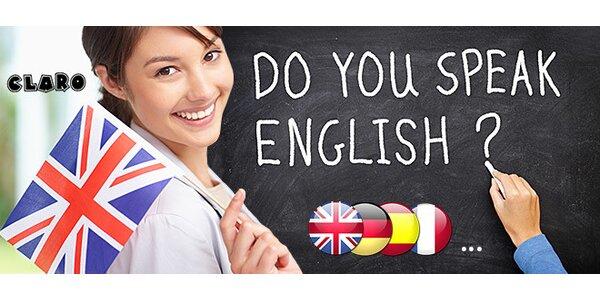 Jazykový kurz podľa vlastného výberu v Jazykovej škole Claro