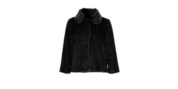 Dámsky čierny kabátik Iska