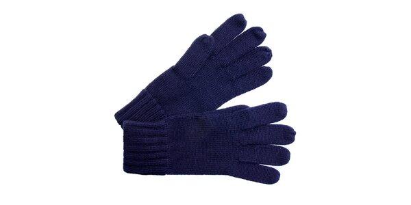 Dámske tmavo modré rukavice Fraas