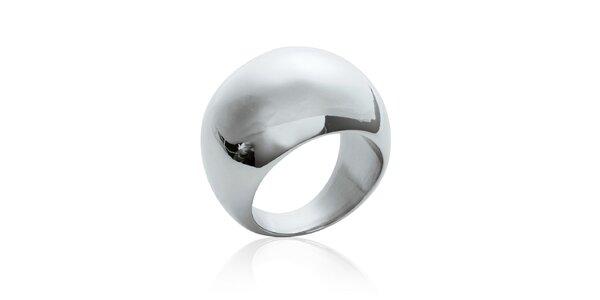 Dámsky vypuklý oceľový prsteň La Mimossa