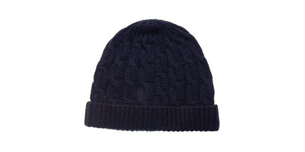 Dámska čierna pletená čapica Fraas