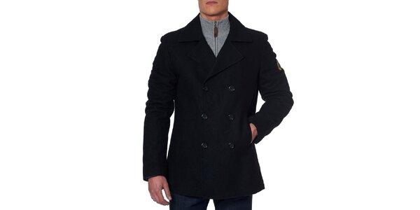 Pánsky čierny kabátik Paul Stragas