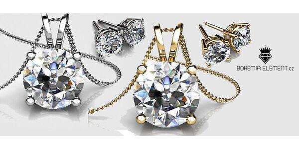 Exkluzívna akcia: Valentínsky set trblietavých šperkov 1+1 zdarma