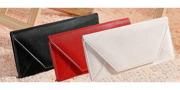 Štýlové dámske listové peňaženky